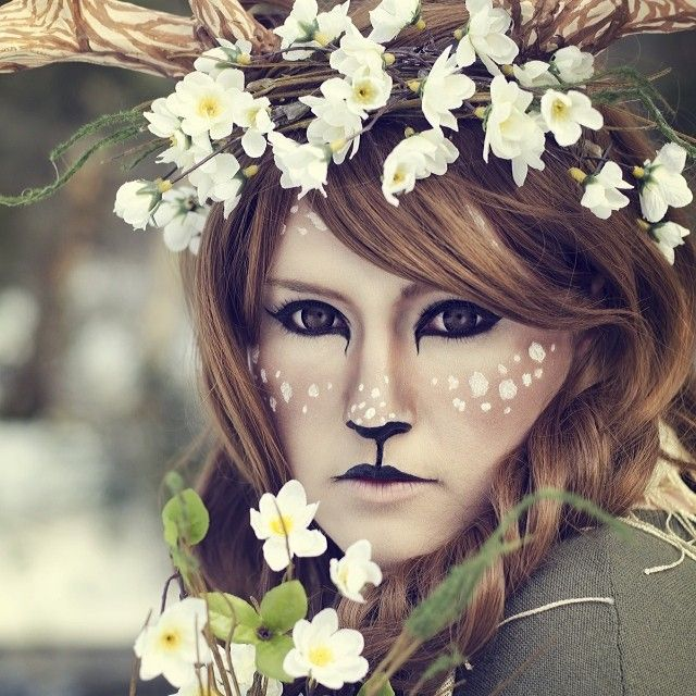 Ren Fair Satyr Faun Makeup Inspiration Renaissance Faire Fawn