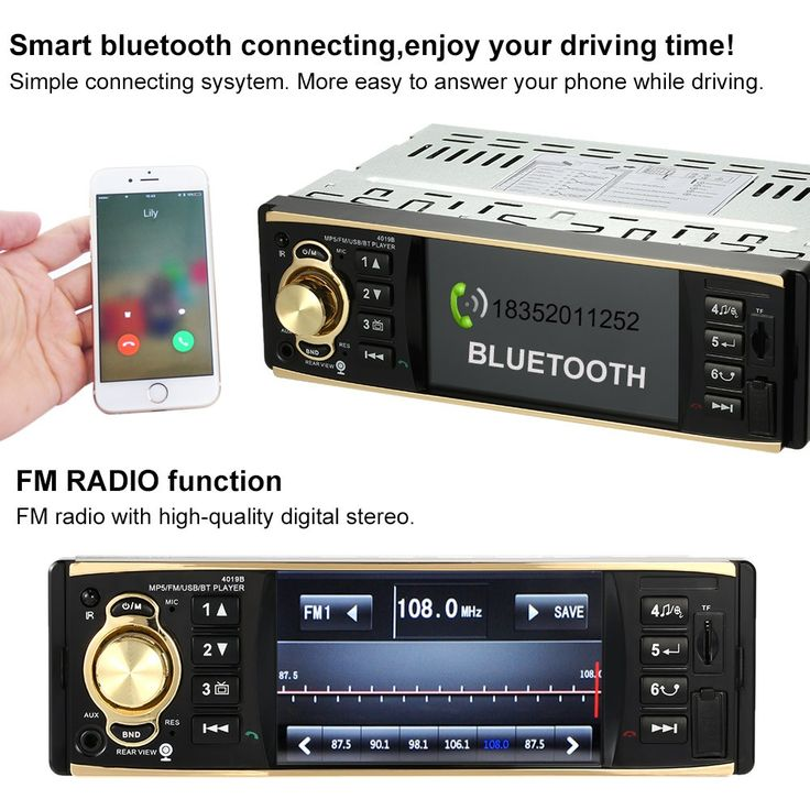 4.1 inch Universal TFT HD 1080P Bluetooth Car Radio MP5 - Tomtop.com