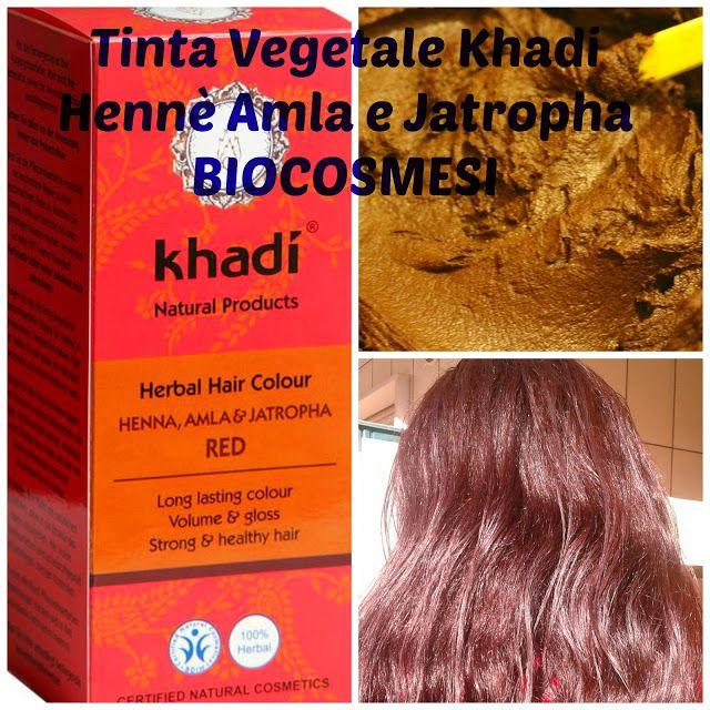 Tinta vegetale Khadi Hennè Amla e Jatropa Ecco la mia esperienza http://biocosmesisolobio.blogspot.it/2017/03/tinta-vegetale-khadi-henne-amla-e.html #hennè #tintavegetalekhadi #trattamentocapelli #curadeicapelli