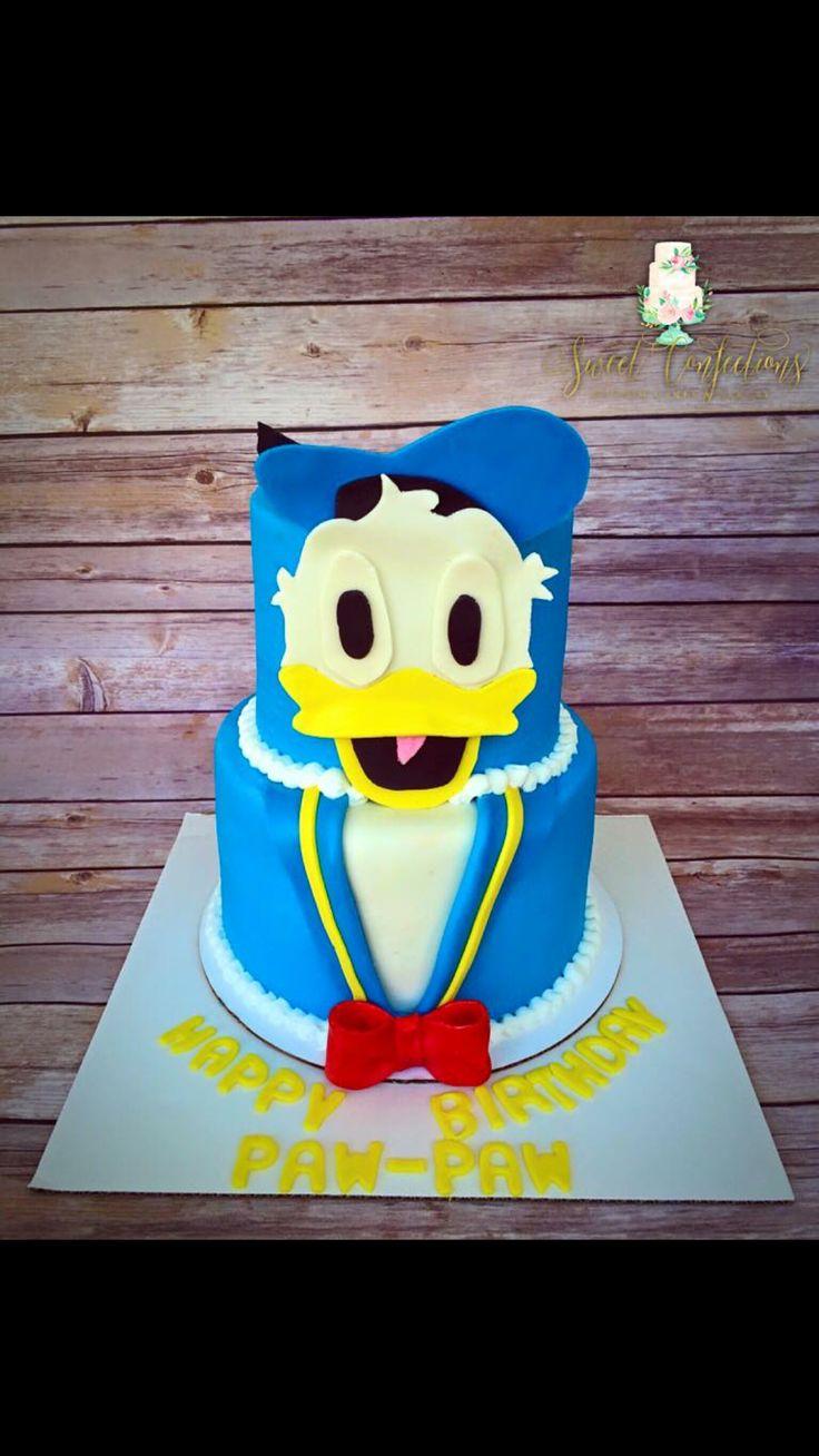 Cake Decoration Alexandria : 25+ best ideas about Donald Duck Cake on Pinterest ...