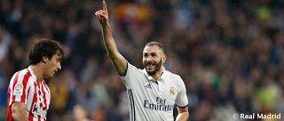 Karim Benzema no perdona al Athletic