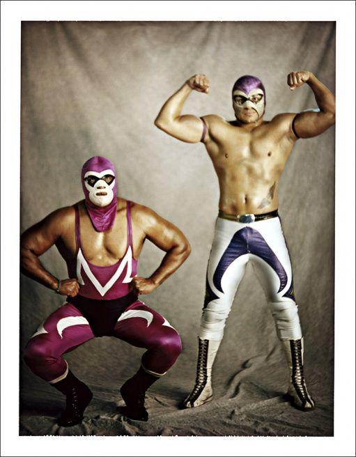 Art luchadores - lucha libre