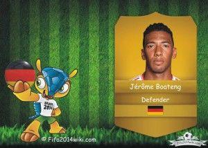 Jerome Boateng - Germany Player - FIFA 2014