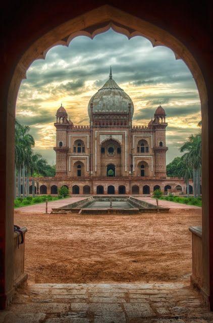 因為心態浪費此行,對印度的感覺只有熱熱熱,對不起 -Humayun Tomb - Delhi