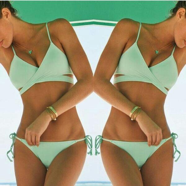 Bikini color menta