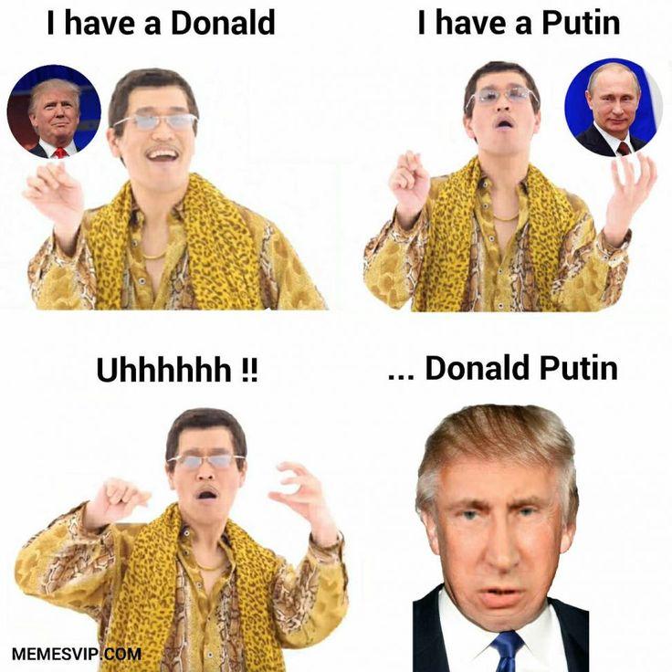 PPAP Mix Donald Trump Vladimir Putin meme