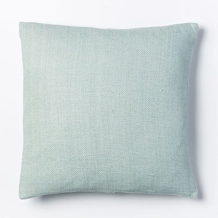 Silk Hand-Loomed Cushion Cover - Pale Harbor