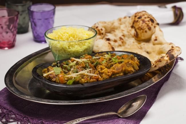 Punjabi Curry -  en herlig og passe spicy miks av poteter og gode grønnsaker