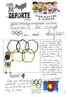 """Jugando a ser niñ@s: El deporte en la infancia: """"Las peque Olimpiadas"""""""