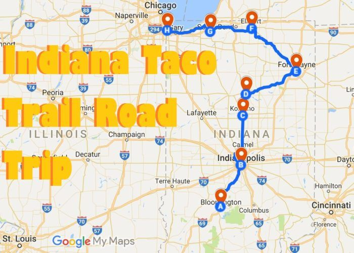 Your Tastebuds Will Go Crazy For This Amazing Taco Trail In Indiana