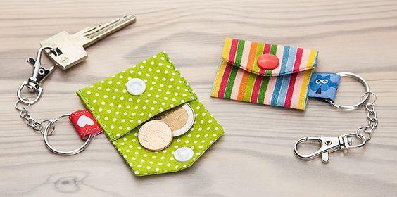 Pfiffig, witzig und äußerst vielseitig einsetzbar - das sind Color Snaps von Prym! Bei buttinette bekommt Ihr die praktischen Druckknöpfe jetzt in verschiedenen Farben. Natürlich haben wir auch gleich eine Idee für Euch, was Ihr damit nähen könnt: Das kleine Täschchen für den Schlüsselanhänger ist perfekt für die kleinen Dinge, die man unterwegs nicht vermissen möchte.…
