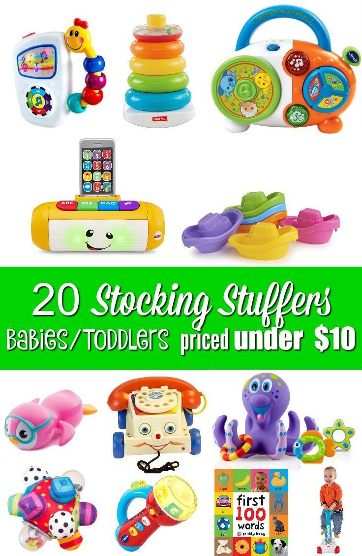 20 stocking stuffers for babiestoddlers christmas http