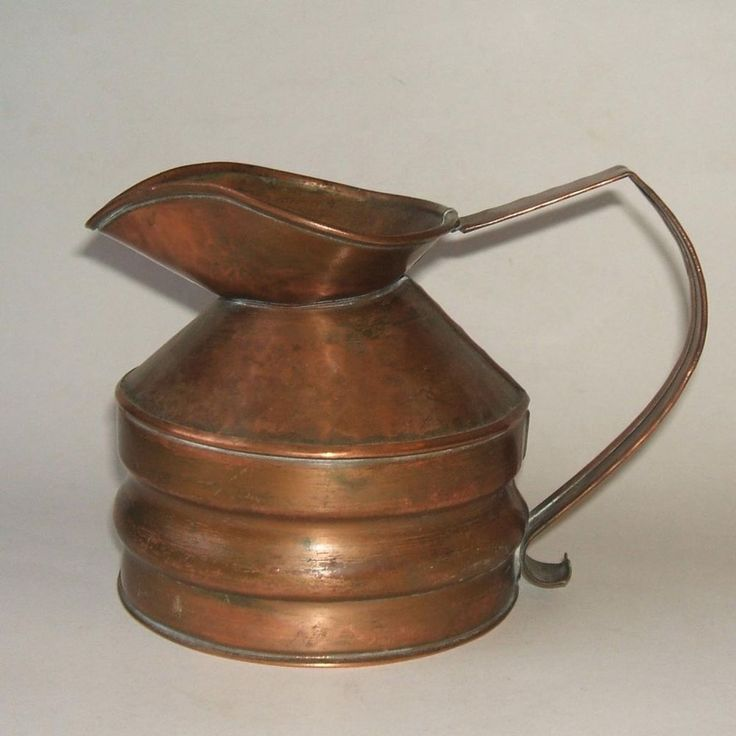 Vintage Craftsman Co Company 301 Copper Pitcher Anvil Mark