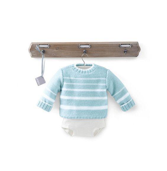 Brassières avec nuances de bleu et jeu de rayures de style moussaillon