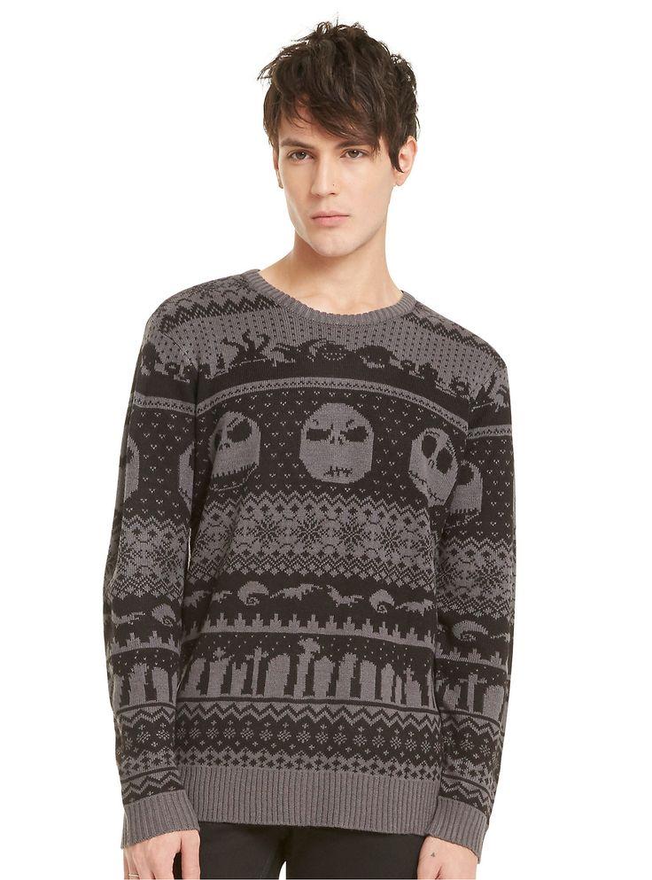 Best 25  Nightmare before christmas sweater ideas on Pinterest ...