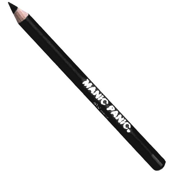 Manic Panic Black Raven Eye & Lip Pencil Liner ($11) ❤ liked on Polyvore featuring beauty products, makeup, eye makeup, eyeliner, multicolor, eye pencil makeup, pencil eyeliner and manic panic nyc