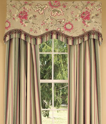 scalloped curtains - Google Search