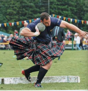 Gregor Edmunds (born 1977) is a Scottish Highland Games competitor and Strongman. He has been the World Highland Games Champion and has also been Scotland's Strongest Man