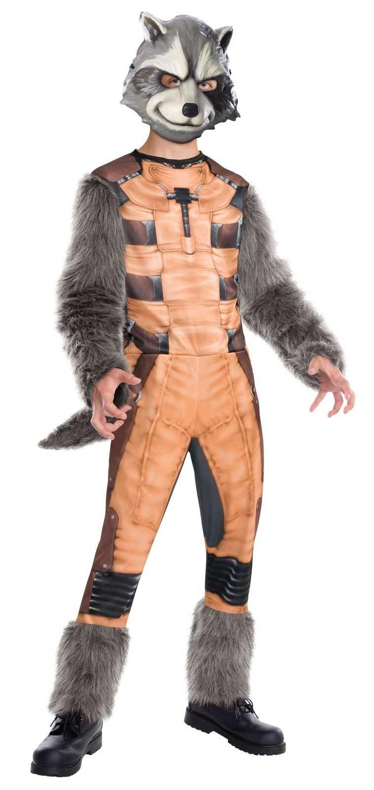 Guardians of the Galaxy - Deluxe Rocket Raccoon Kids Costume from Buycostumes.com