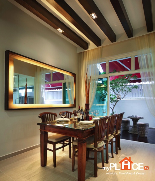 dining room mirror singapore. mirror over dining table room singapore