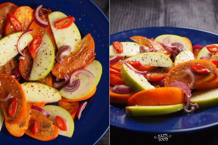 Зимний салат с хурмой и яблокомPiccy.info - Free Image Hosting