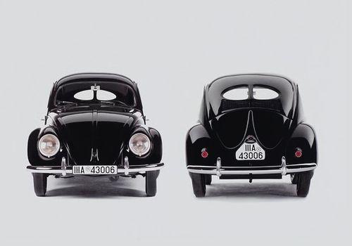 VW cever (denk nog de 6 volt versie gezien dat stijltje in de achterruit.)