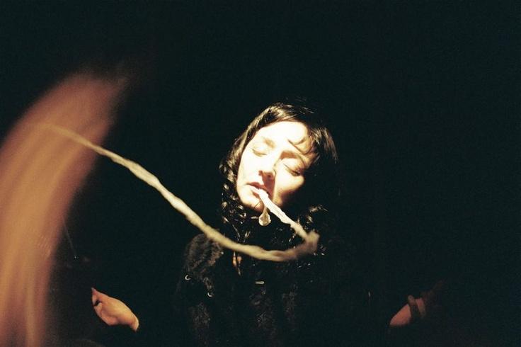 """Maria de Medeiros in Guy Maddin's """"Spiritismes"""""""