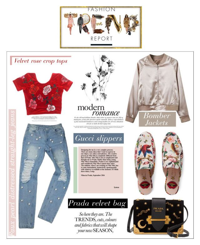 #what's-trending by nka12 on Polyvore featuring polyvore, fashion, style, Gucci, Prada and clothing