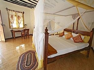 Karamba Resort: One of the larger rooms -- http://adventureswithinreach.com/tanzania/zanzibar/lodging-details.php?name=Karamba-Resort