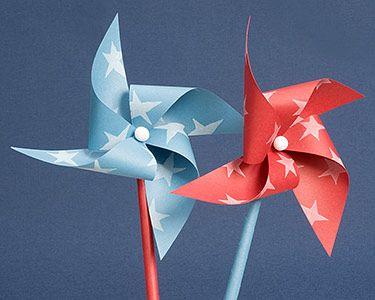 Pinwheels, Paper pinwheels and How to make pinwheels on ...