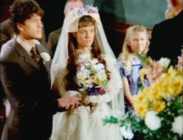Willie olsen and rachel brown little house on the prairie for Laura ingalls wilder wedding dress
