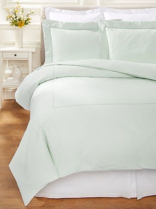 53% OFF 400 TC Percale Duvet Set (Eucalyptus)