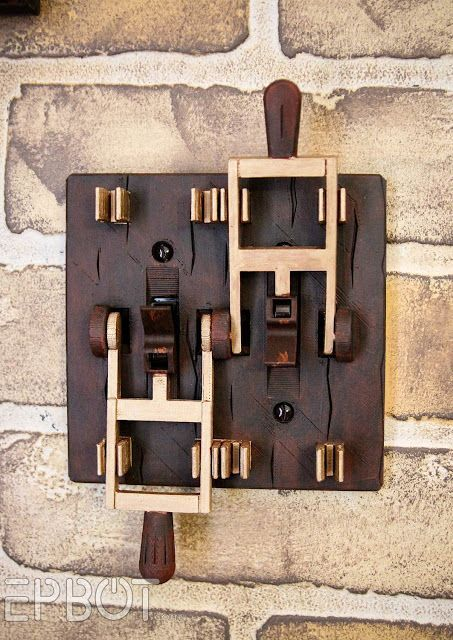 EPBOT: The Top 3 Steampunk Switches For Your Inner Mad Scientist  #homedesign #steampunk #steampunkart #steampunkdecor