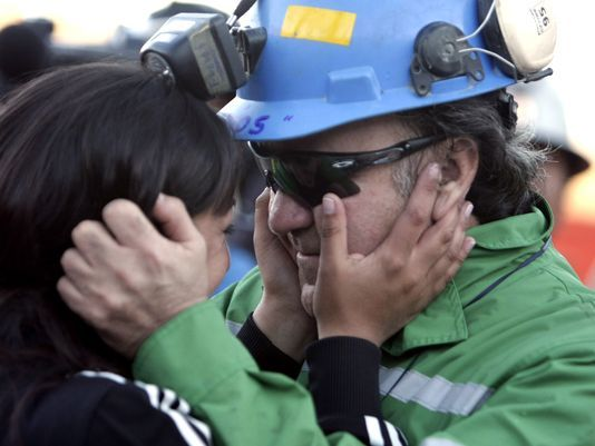Relive the moments: 33 Chilean miners rescued alive #Chile, #Miners, #World