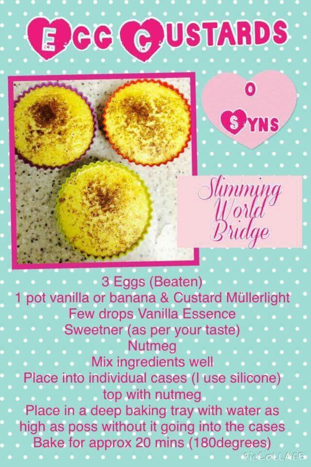 Egg custards