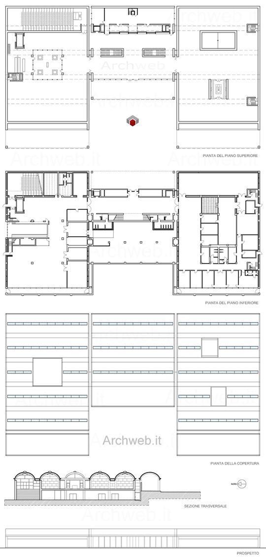 Louis Kahn - Kimbell Art Museum 2D