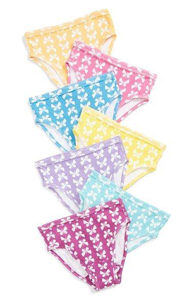 Hanna Andersson Organic Cotton Hipster Underwear (7-Pack) (Little Girls & Big Girls)