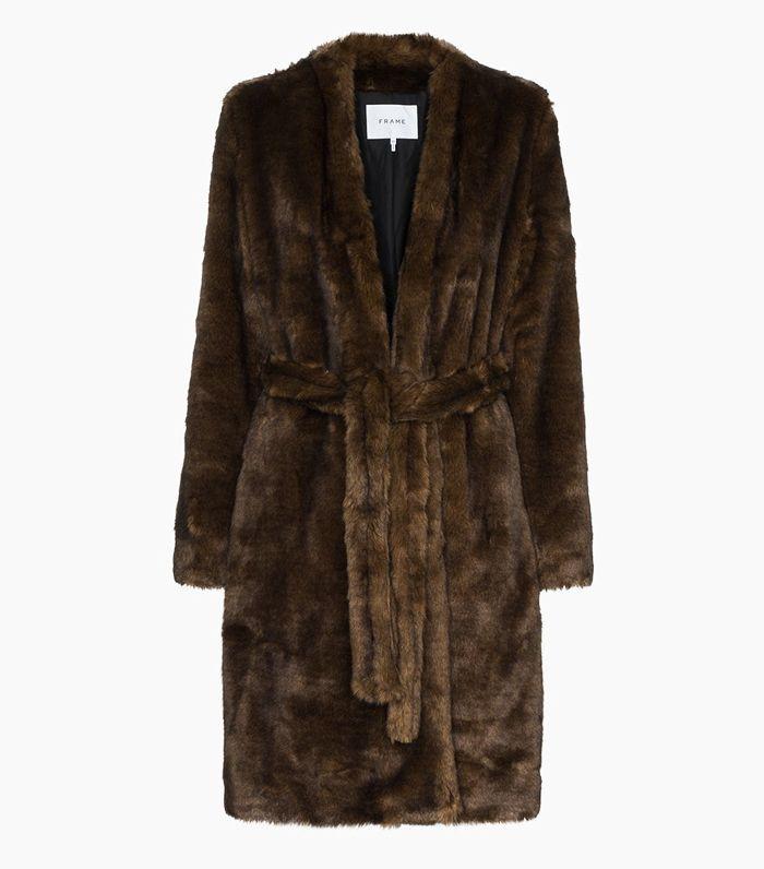 Evelyn Black Faux Fur Coat   Boohoo UK
