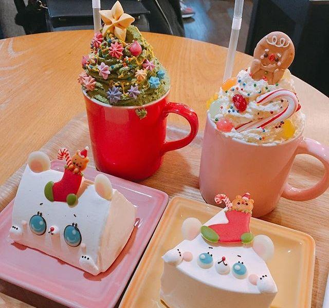 可愛いすぎて飾りたくなる♡韓国の人気CAFE【All That SweetsのXmas限定メニュー】