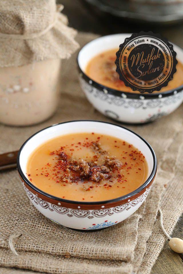 Ev Yapımı Yaş Tarhana Çorbası nasıl yapılır ? Tarifin püf noktaları, binlerce yemek tarifi ve daha fazlası...