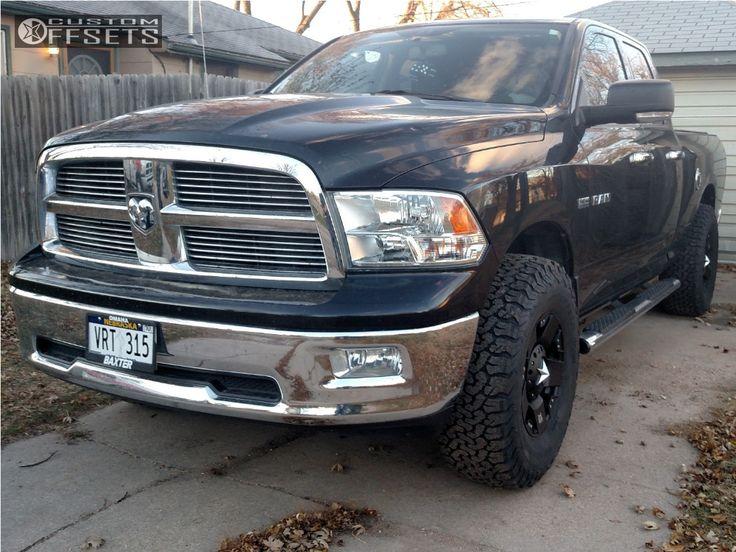 1 2010 Ram 1500 Dodge Rough Country Leveling Kit Xd Xd775 Black