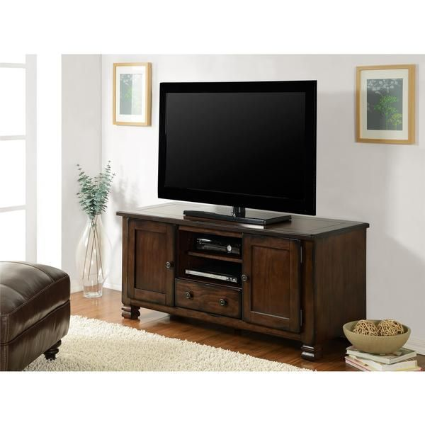 Use The Two Center Open Compartments For Your Electroniccomponents.  Concealed Storage For Movies And DVDs. 55 Inch Tv Stand55 Inch TvsEspresso  ...