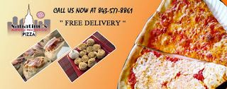 Are you Feeling Hungry and looking for delicious pizza delivery service in South California?  The NY style Pizza from Sabatino's Pizza is amazing taste pizza with its high quality ingredients. Call or browse online for free and delicious pizza delivery in South California.