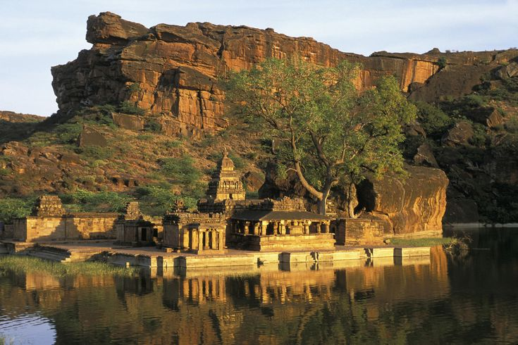 Bhutanath Temple, Badami, Karnataka, India.