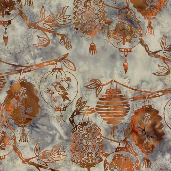Beautifully simple batik.  Love this ...would love to bees and hives.