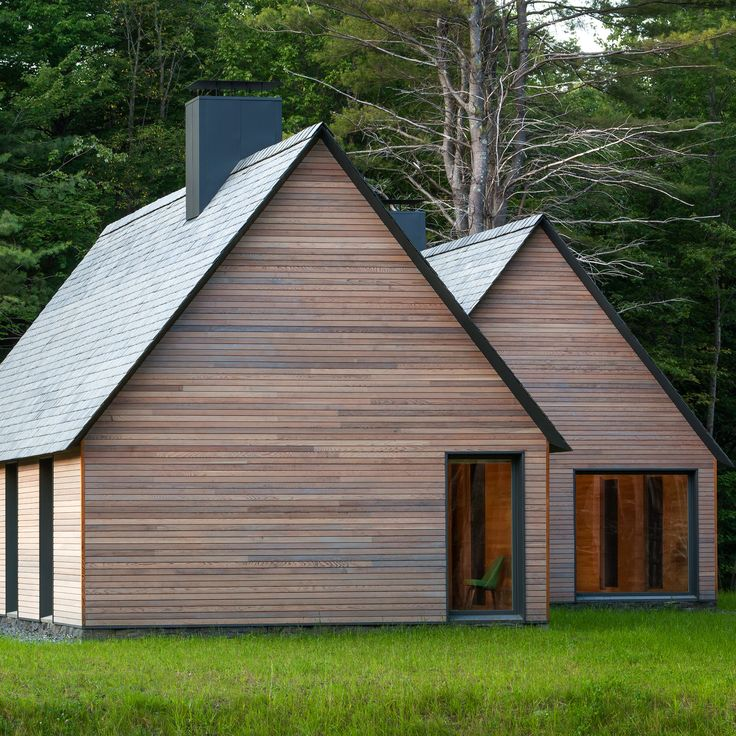 HGA took cues from Cape Cod-style homes while conceiving a series of cabins for world-renowned musicians spending the summer in rural New England.
