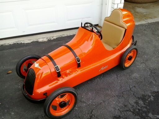 Rare Austin Pathfinder Pedal Car Totally Restored