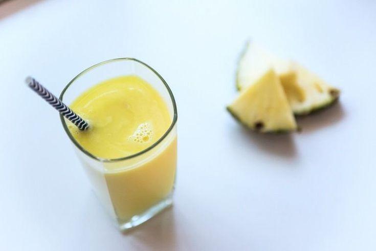 Nutriblast cu nucă de cocos, lime și ghimbir
