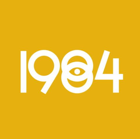 1984: Minimalist Design, 1984 Typography, Big Brother, Orwell 1984, Graphics Design, Book, Film Posters, Inspiration Art, Fonts Letra Fonts Typography