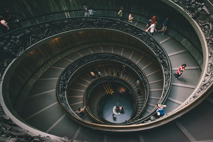 http://www.aliharveyphoto.com/?p=292  Spiral Staircase - The Louvre in Paris, France.